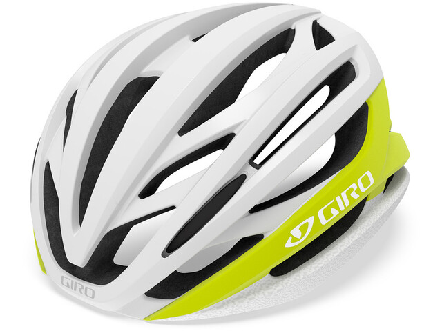 Giro Syntax MIPS Kask rowerowy, matte citron/white
